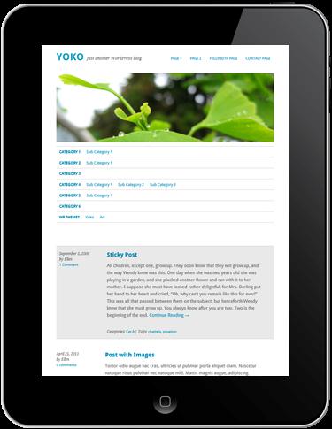 Yoko WordPress Theme