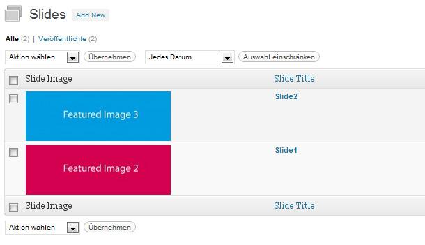 Featured Content Slider WordPress Plugin