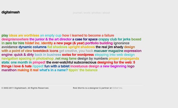 Webdesign-Trends Navigationen
