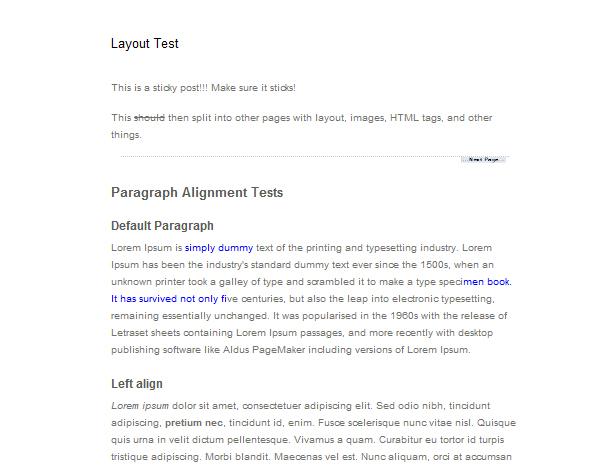 Tipps für den WordPress Texteditor