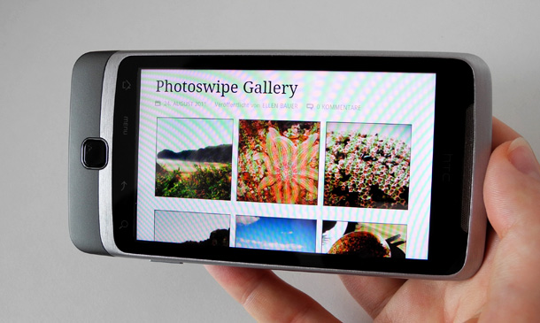 Photoswipe Bildergalerie Tutorial