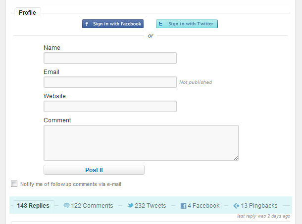 Social WordPress Plugin