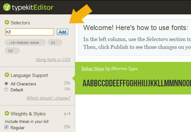 Von web fonts über die schriften bibliothek typekit kurz erklärt
