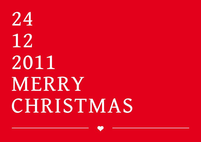 Merry Christmas 2011 von Elmastudio