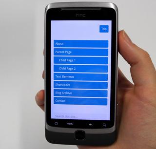 mobile-first Webdesign Ansatz