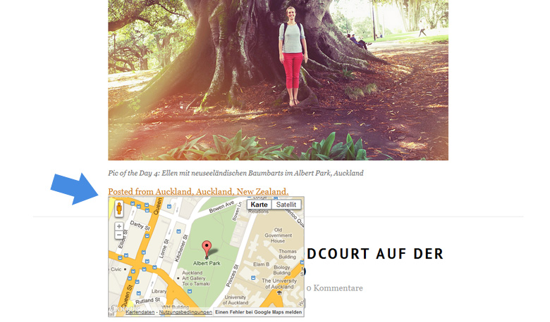 WordPress Geolocation