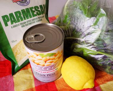 Webworker Lunch Tipp: Zutaten für Grünen Salat