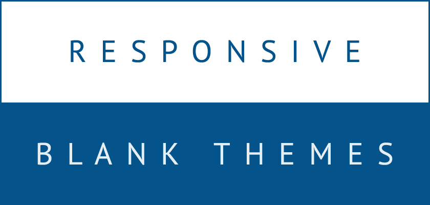 Outstanding Wordpress Blank Theme Responsive Photo - Professional ...