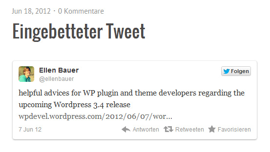 WordPress 3.4 Features