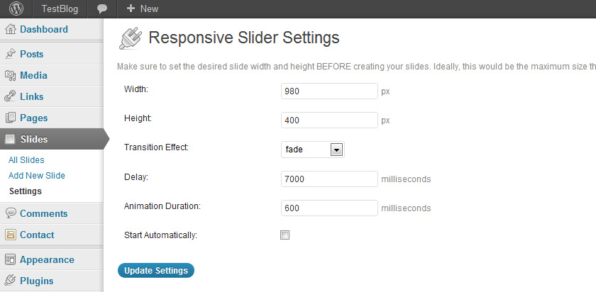 responsive Slider WordPress Plugin 02