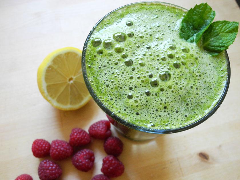 sommerlicher Green-Smoothie