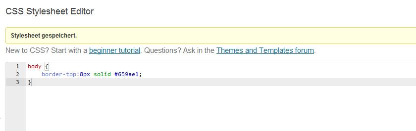 Custom CSS mit dem WordPress Jetpack Plugin