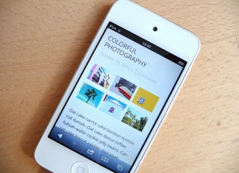 Die Baylys Bildergalerie auf dem iPod