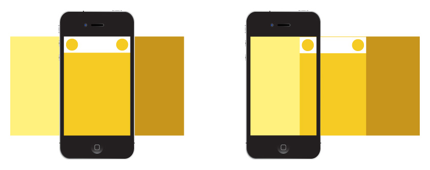 Off Canvas Layouts in Mobile Apps