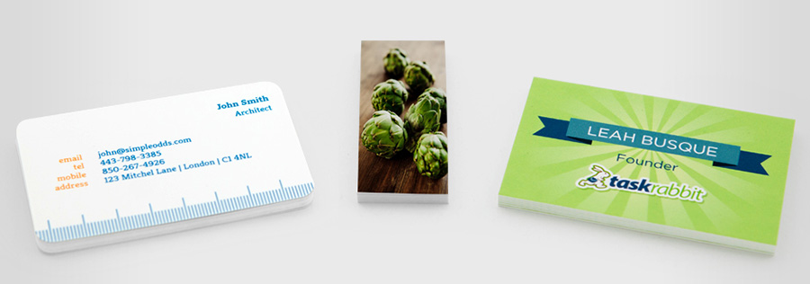 Different Moo Business Card Designs
