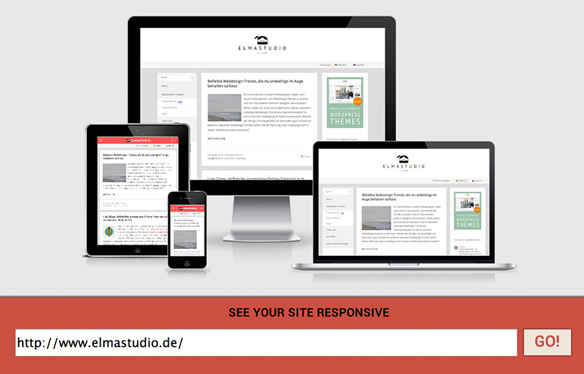Elmastudio.de on Am I Responsive?.