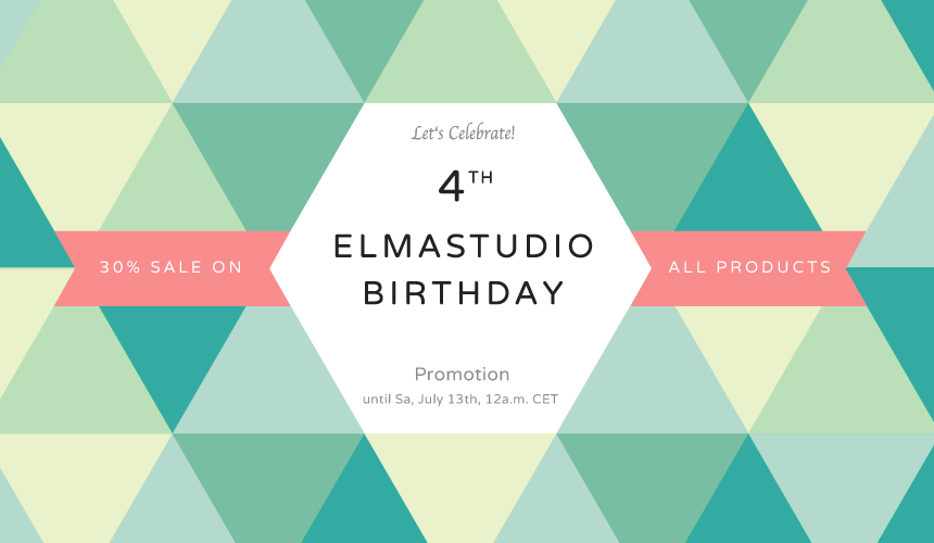 Elmastudio Birthday Promotion