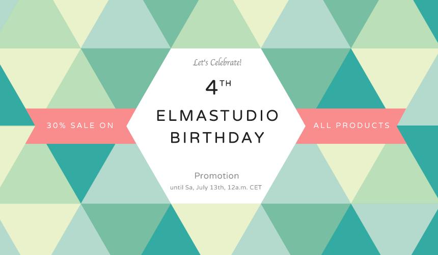 Elmastudio Birthday Promotion