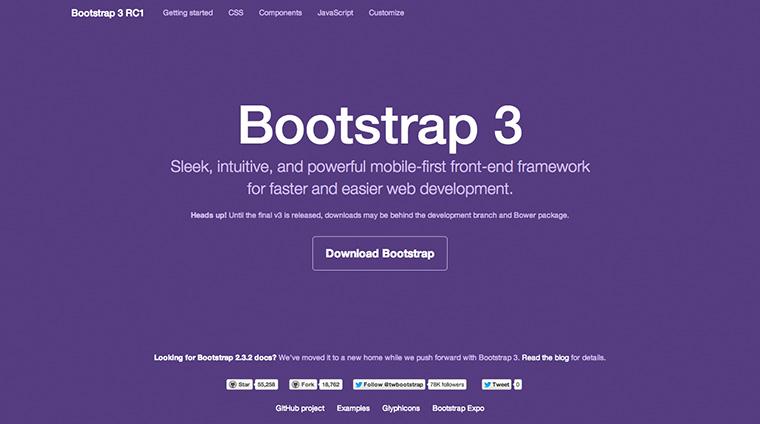Ende Juli haben die Entwickler Version 3 von Bootstrap veröffentlicht.
