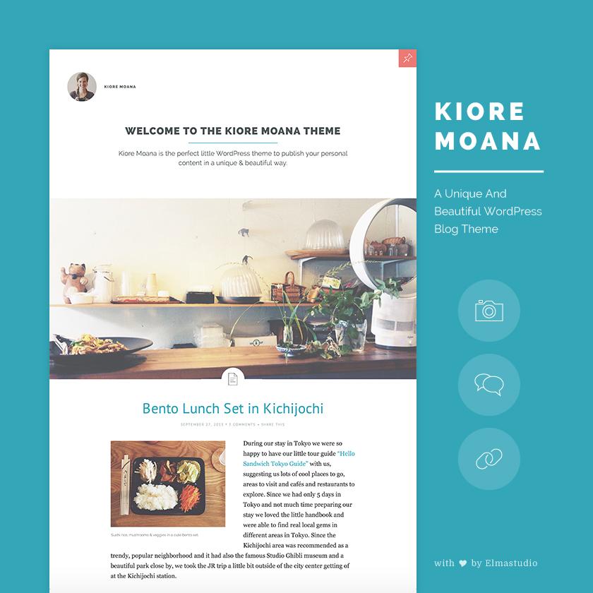 Blog: Kiore Moana: Our Newest Premium WordPress Blog Theme With