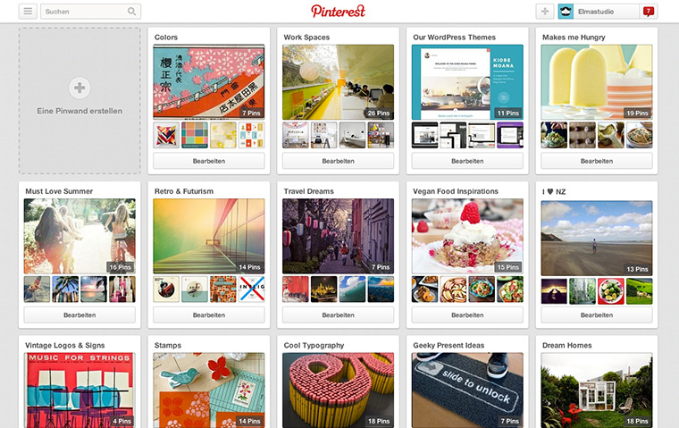Elmastudio on Pinterest
