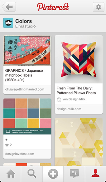 Pinterest iPhone App