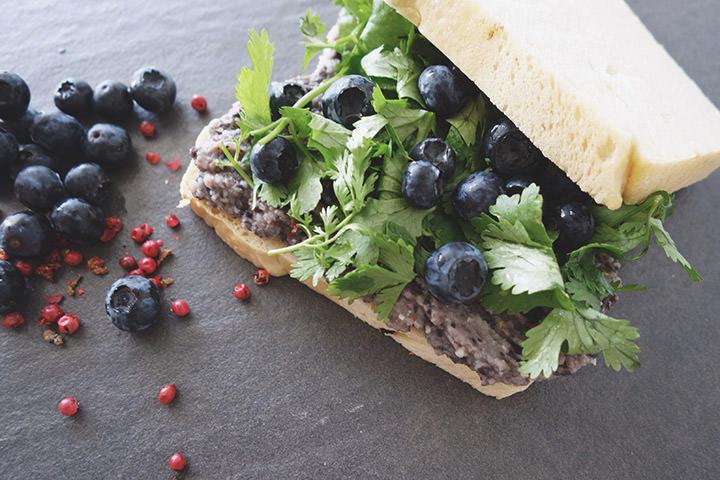 Super lecker und eine frische, kreative Sandwich-Kombination!