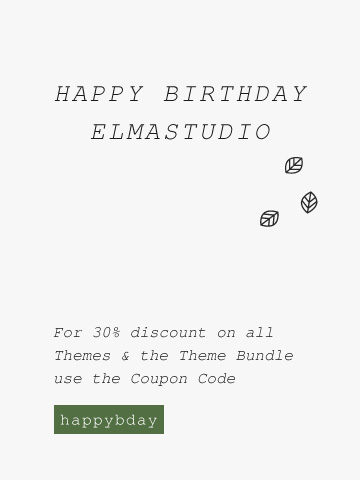 Elmastudio Birthday 2015