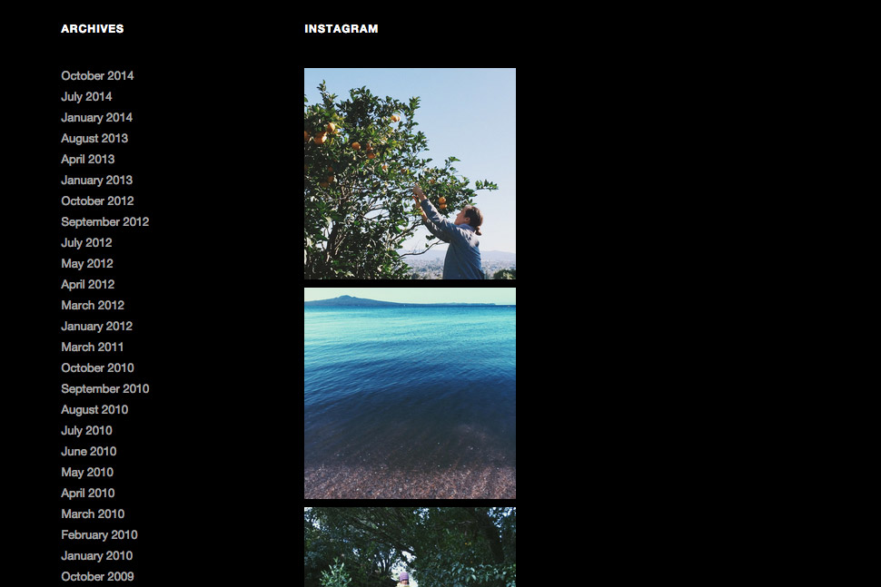 The Instagram image preview with the WP Instagram Widget plugin.