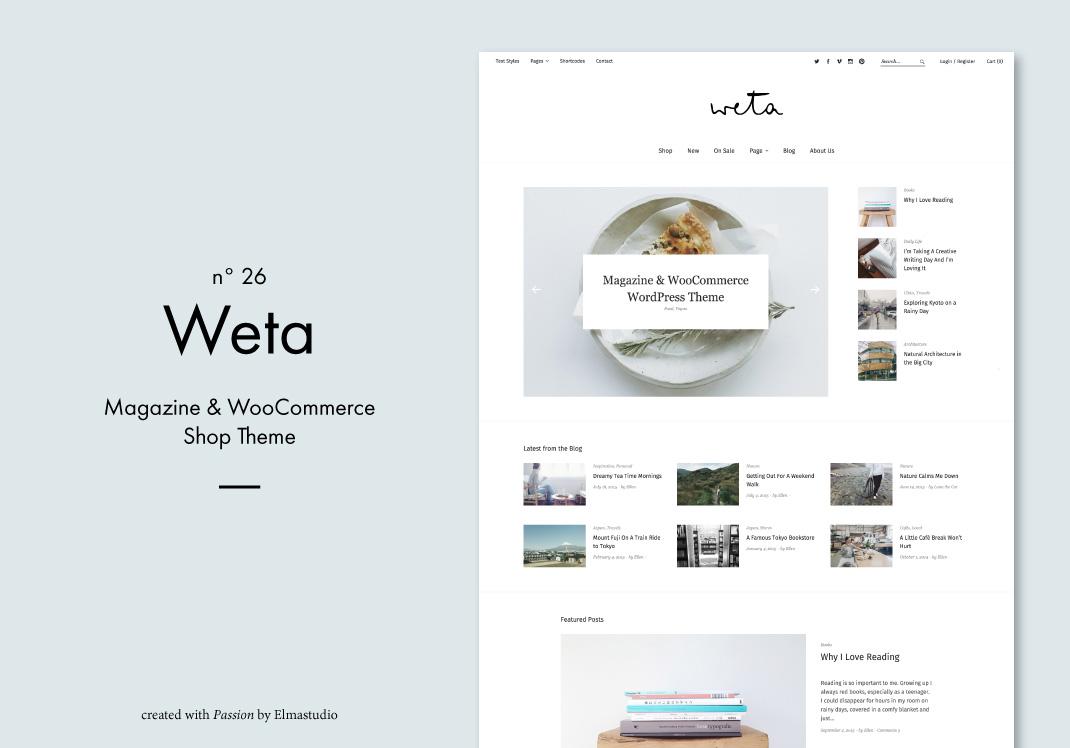 6811402c3cfcb Weta  Ein Magazin   WooCommerce Shop WordPress Theme von Elmastudio –  Elmastudio