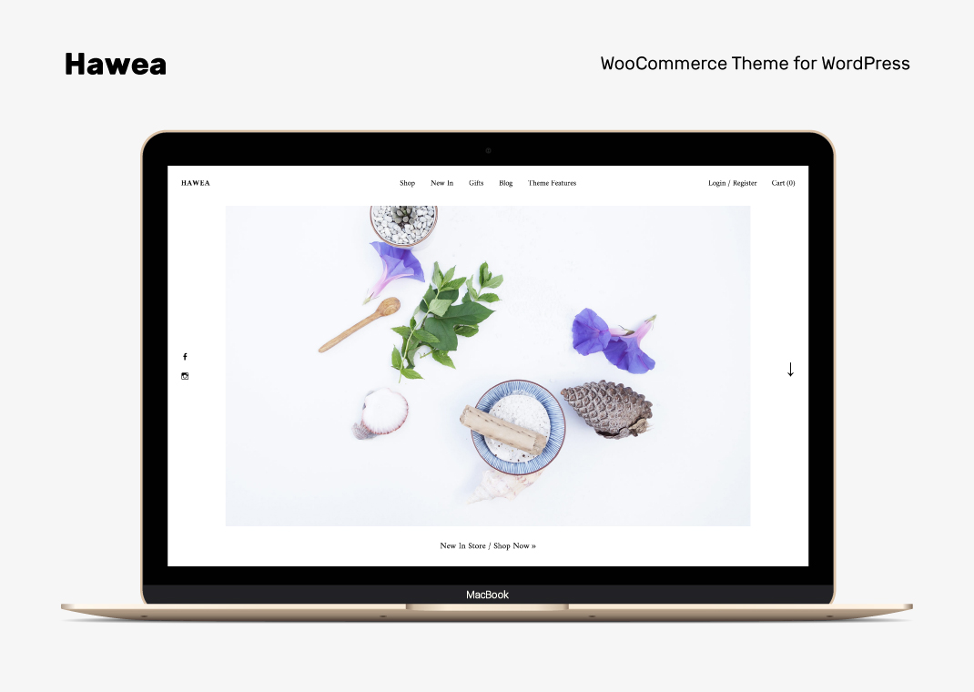 Hawea WordPress WooCommerce Shop Theme