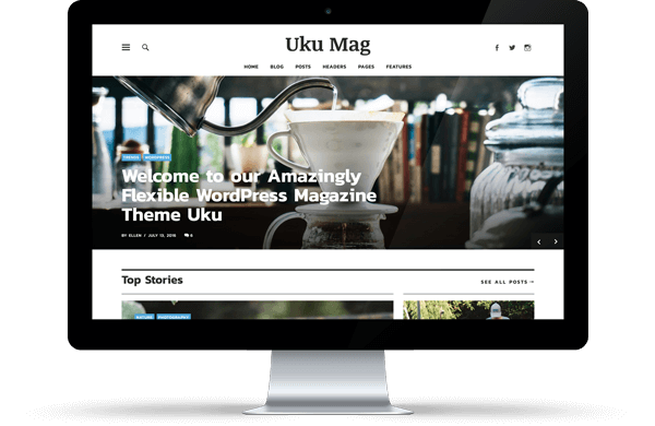 Uku WordPress Magazin und Blog Theme