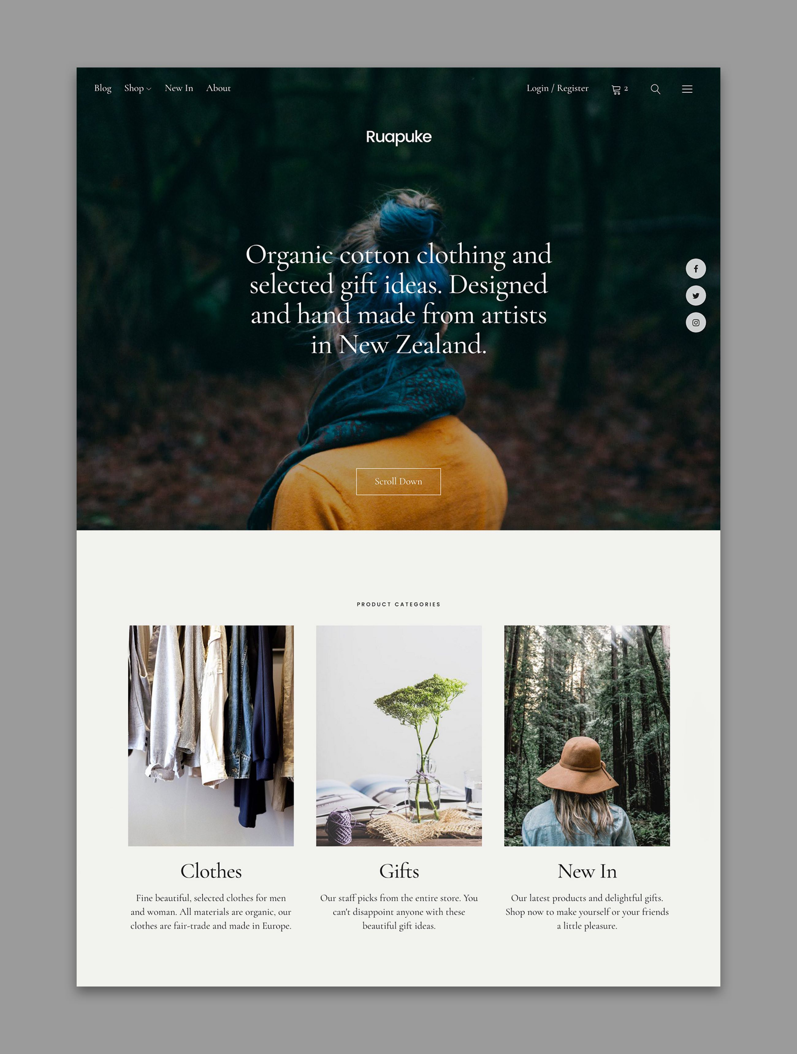 Uku WordPress Theme With New Design Style and WooCommerce Support ...