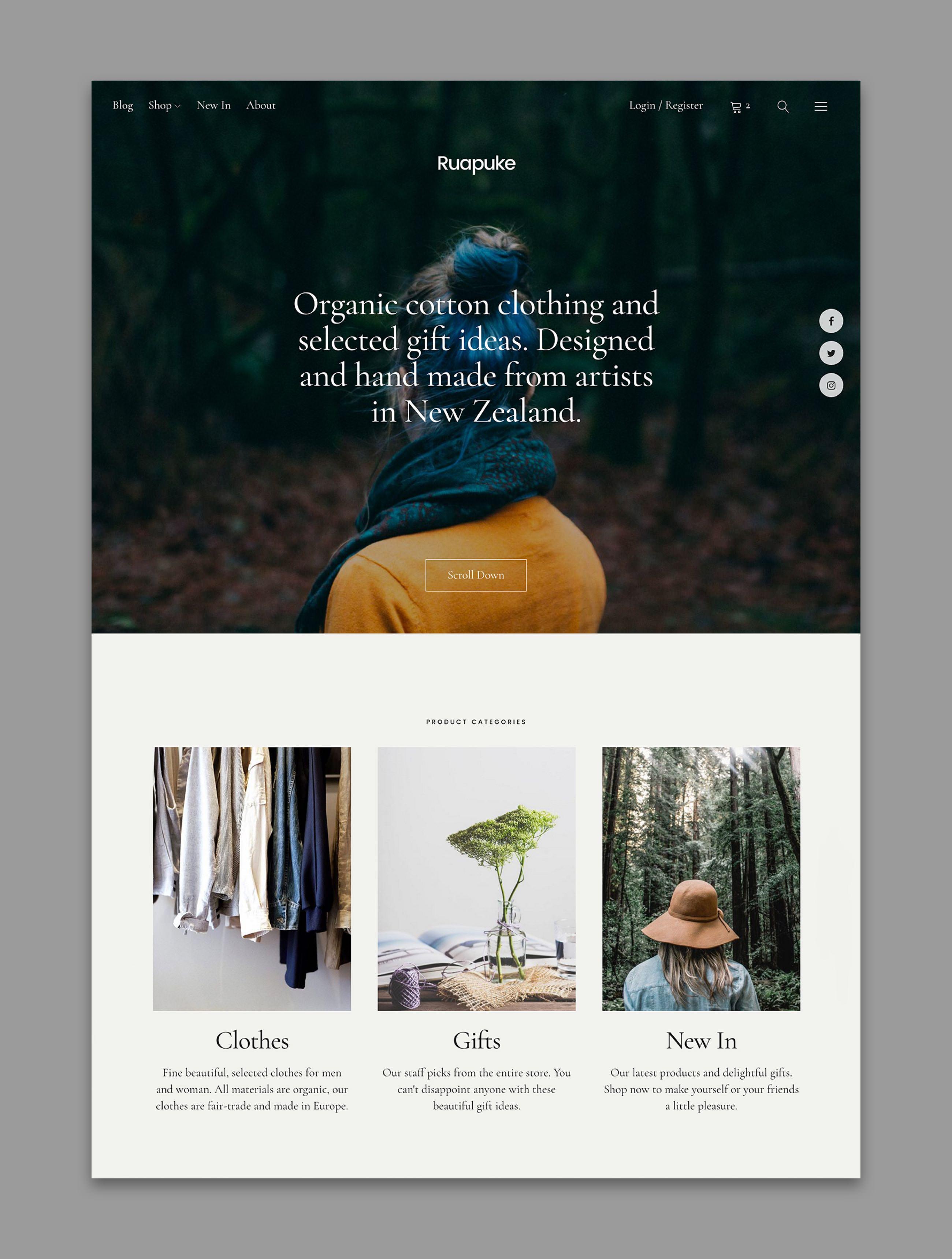 Uku WordPress Theme WooCommerce