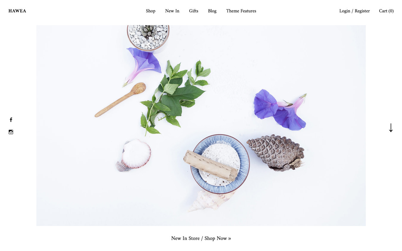 Hawea WordPress Theme