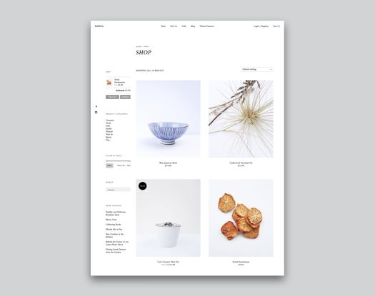 Hawea WooCommerce WordPress Theme