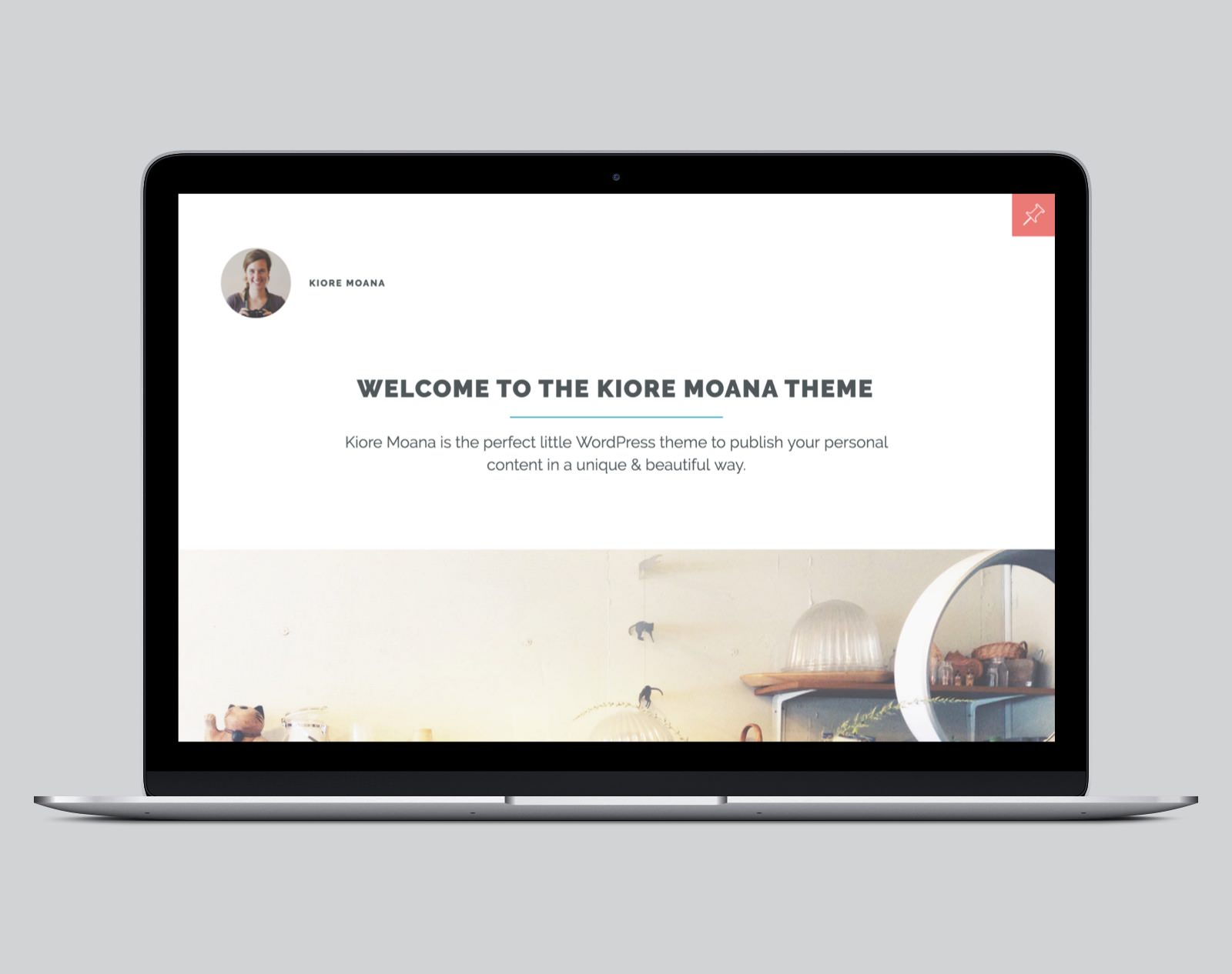 Kiore Moana WordPress Blog Theme