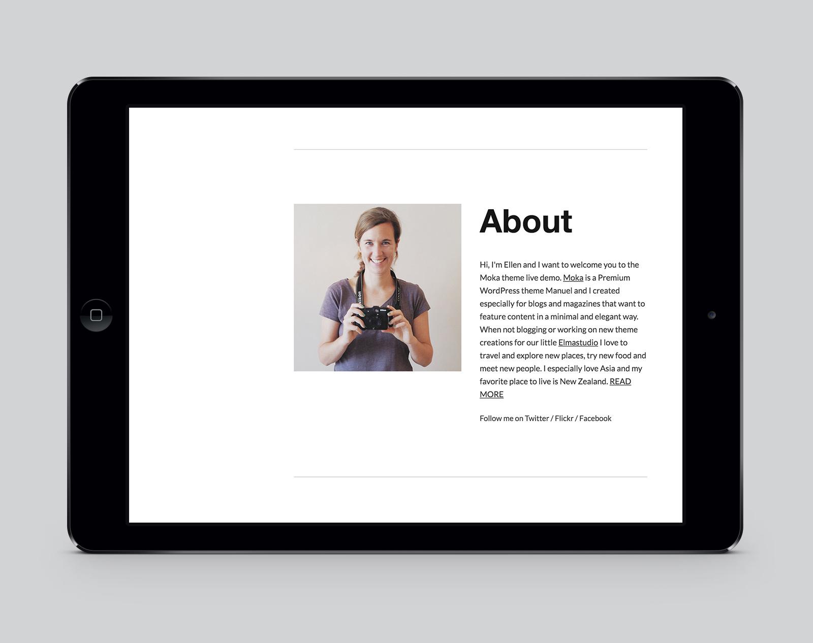 Moka WordPress Magazine Theme