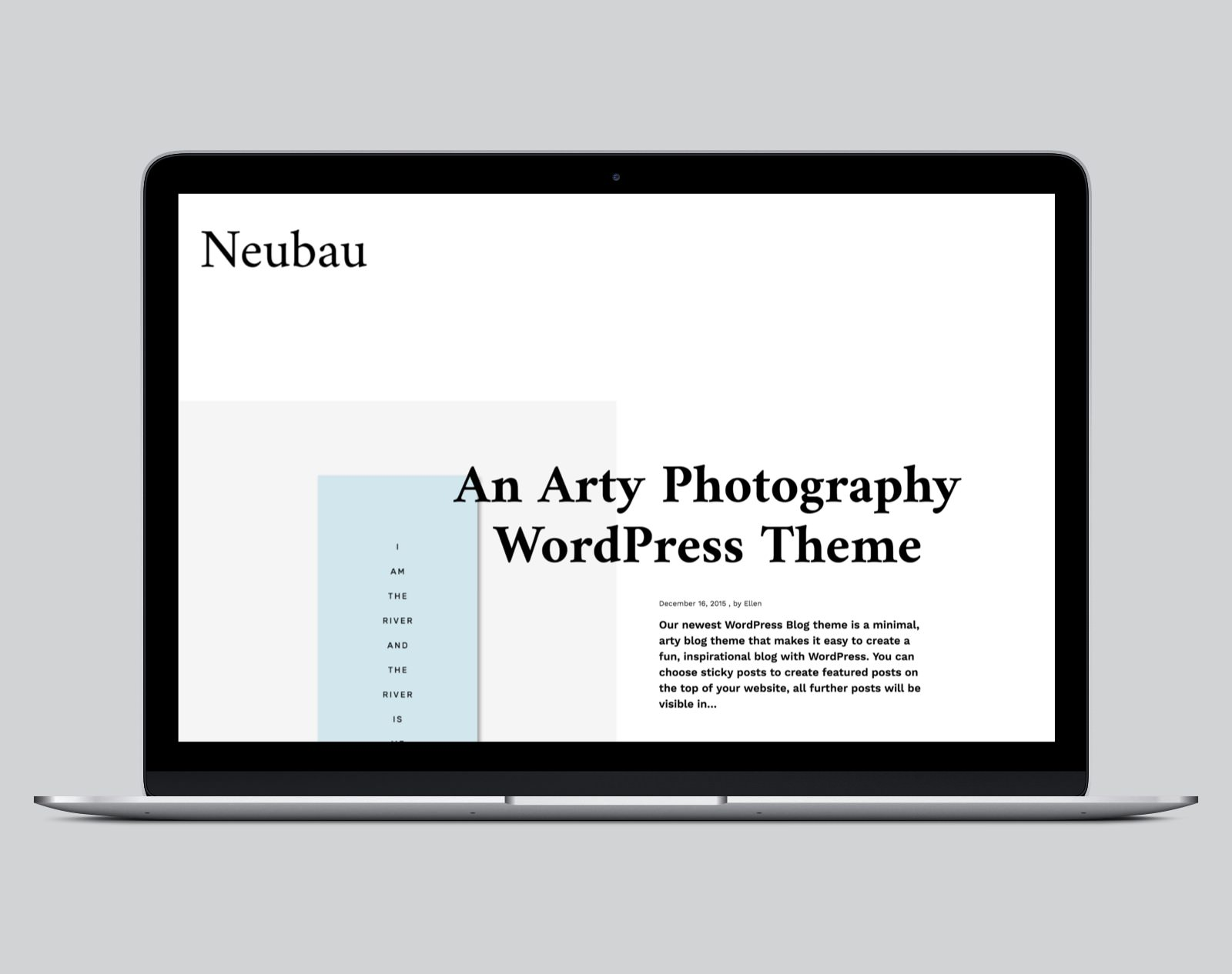 Neubau WordPress Fotografie Theme