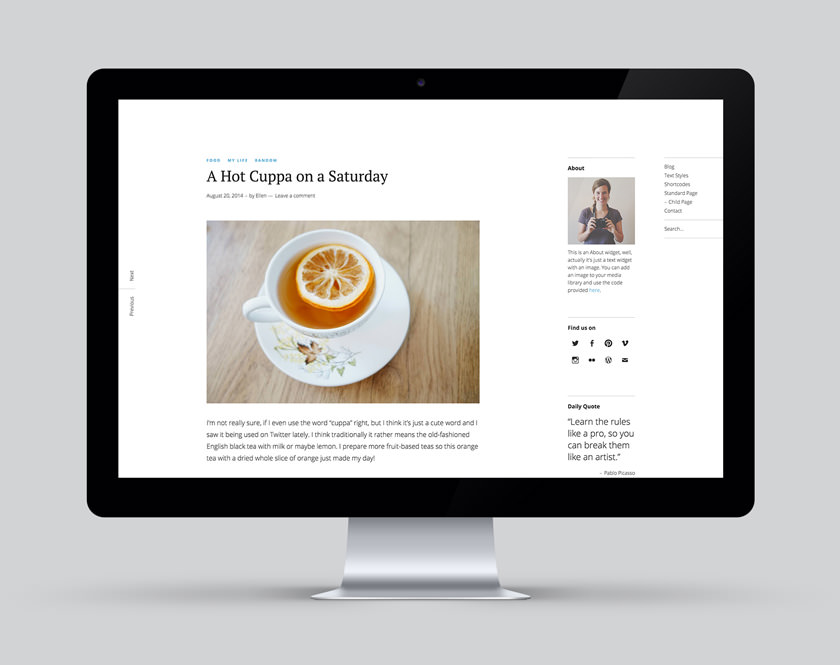 Ponsonby WordPress Blog Theme