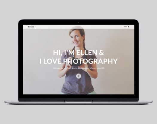 Renkon WordPress Photography Theme
