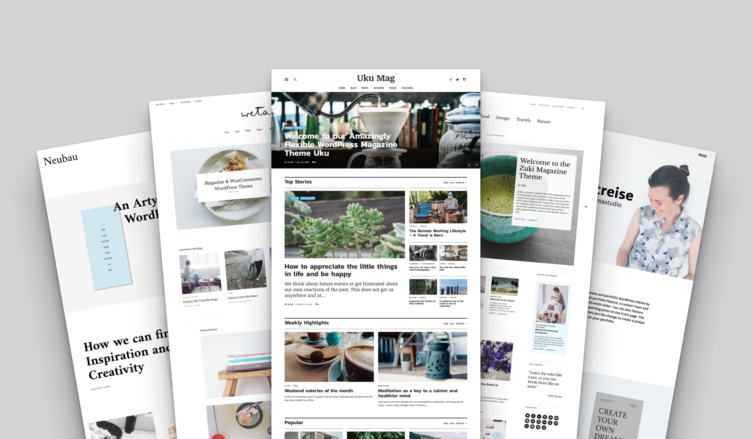 Elmastudio WordPress Theme Bundle