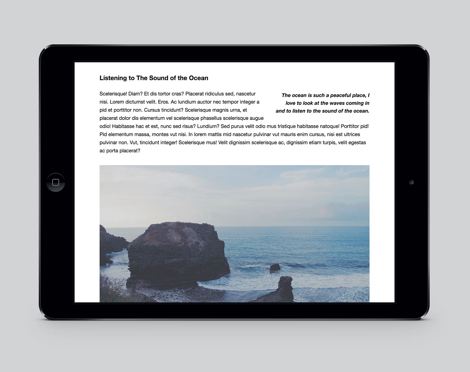 Ubud WordPress Photography Theme