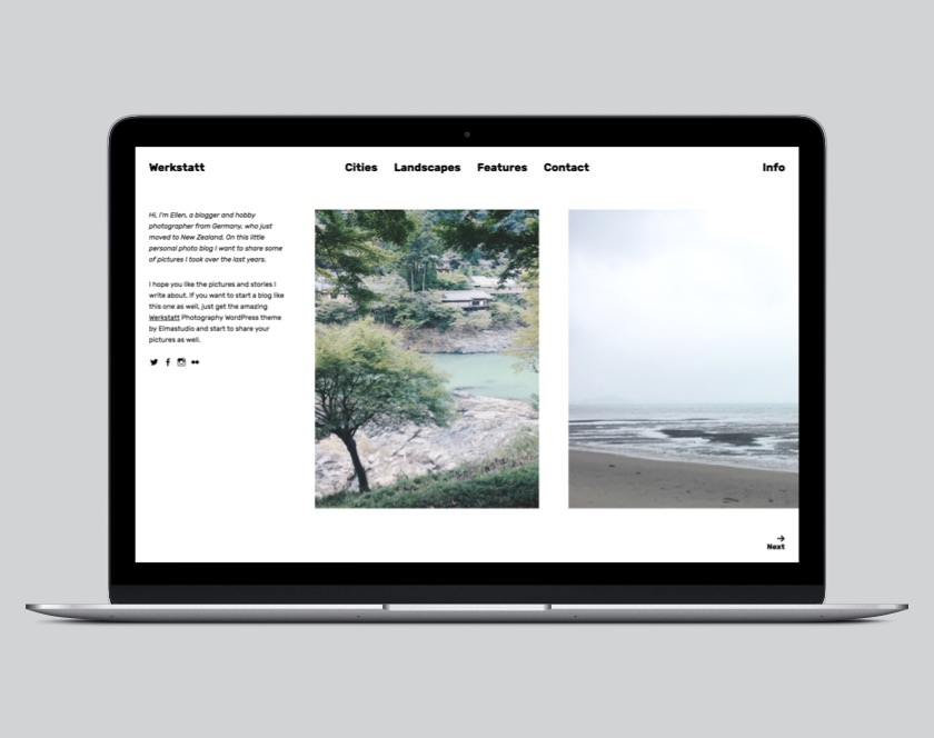 Werkstatt WordPress Photography Theme