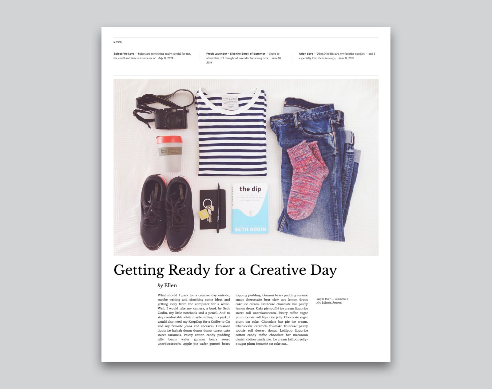 Zuki WordPress Magazine Theme