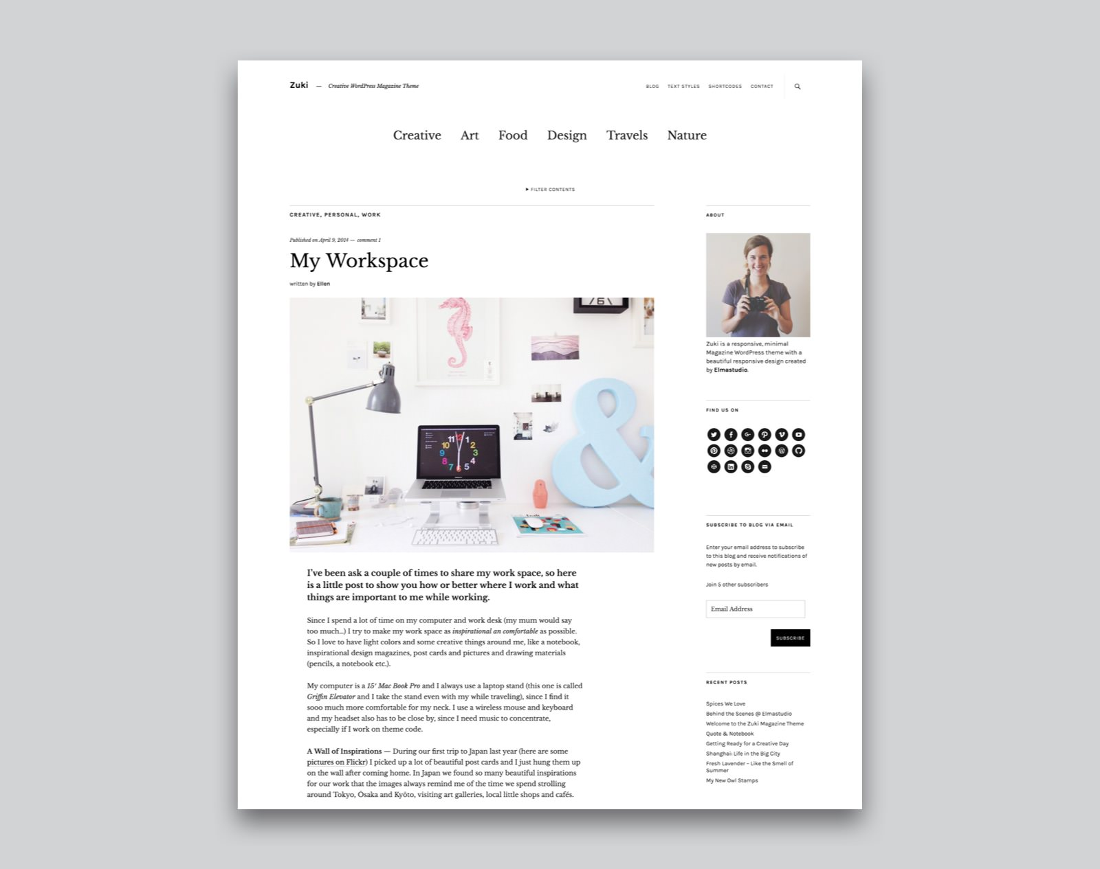 Zuki WordPress Magazin Theme