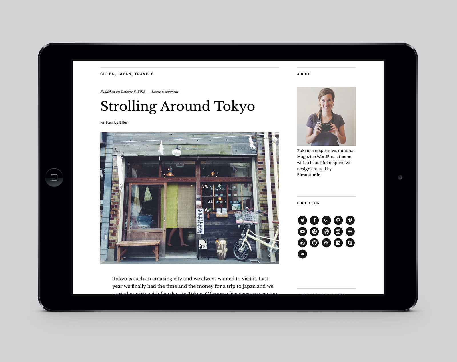 Zuki WordPress Magazinzuki Theme
