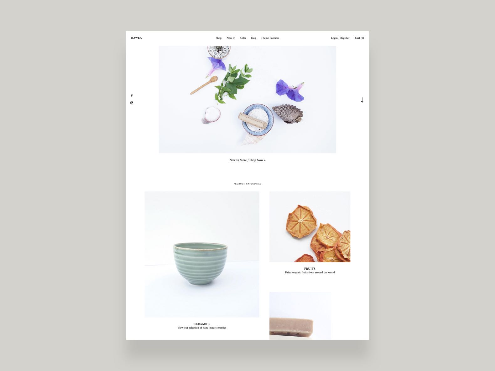 Hawea WordPress Ecommerce Theme