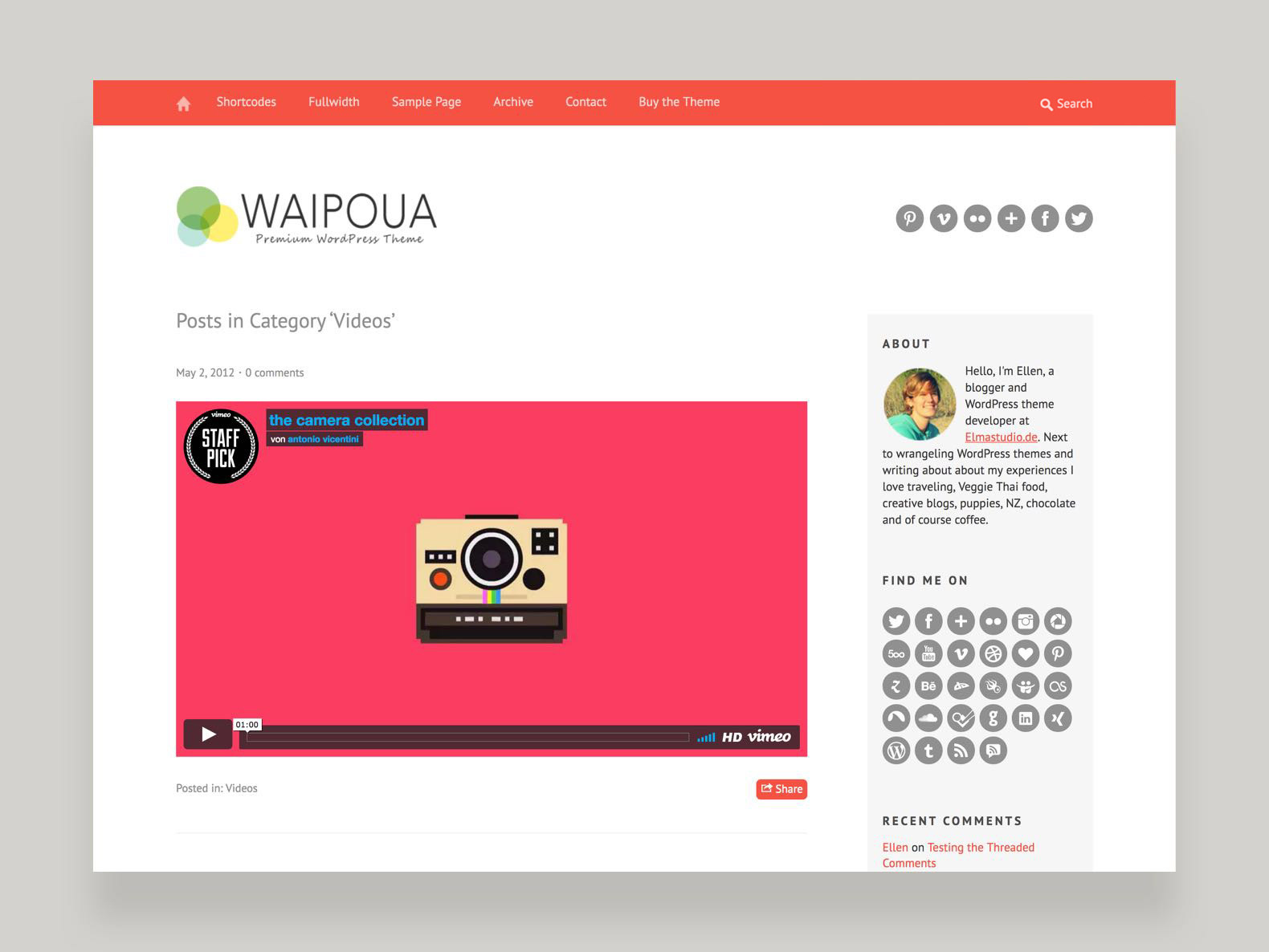 Waipoua WordPress Theme – Elmastudio