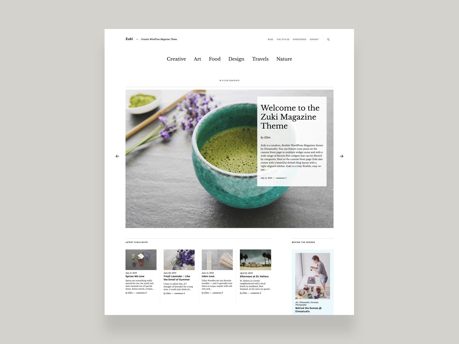 Zuki WordPress Magazine Theme